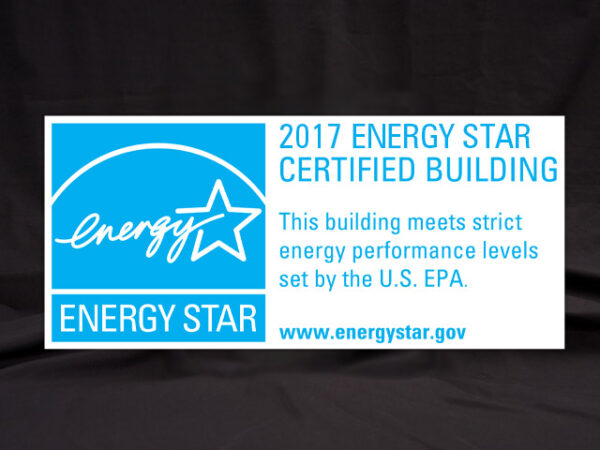 2017 Energy Star Certified Building Banner