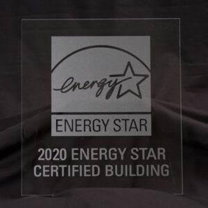 EPA Etched-look Acrylic Plaque, 2020, for buildings KIT