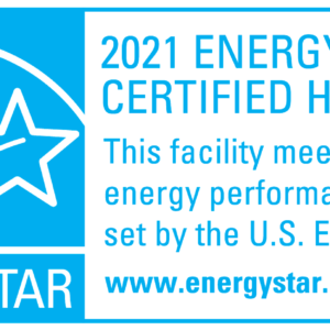 EPA Static Cling Decal, 2021, for new homes KIT