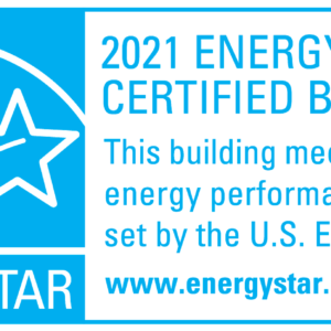 EPA Static Cling Decal, 2021, for buildings KIT